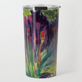 Colors in botanical garden, Seattle Travel Mug