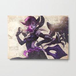 Morgana Blade mistress da vinci style artwork Metal Print