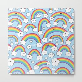 Rainbows Everywhere! Metal Print