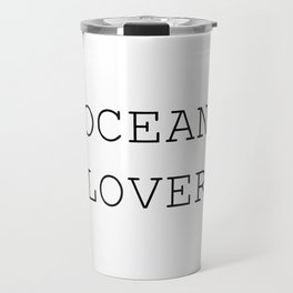 Ocean Lover Travel Mug