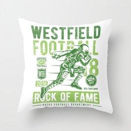 Westfield HS Football Throw Pillow