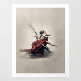 Dancing of Love Art Print