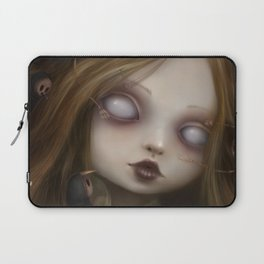 The face of all your fears Laptop Sleeve