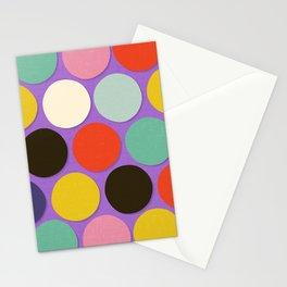 chelsea spot lavender Stationery Cards
