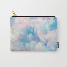 Pretty Rainbow Pastel Clouds Aesthetic design Carry-All Pouch