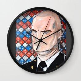 Bailiff Nostradamus 'Bull' Shannon Wall Clock