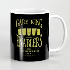 Gary King and the Enablers Mug