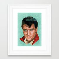 elvis Framed Art Prints featuring Elvis by Patrick Anthony Leverton
