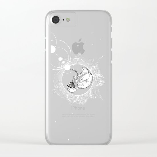 ECLIPSE :: rebirth of the lost cosmonaut Clear iPhone Case