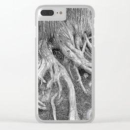 Tree Roots Clear iPhone Case