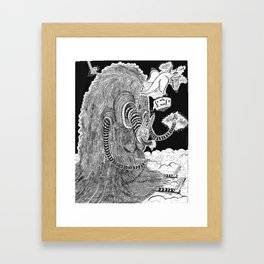 R.I.Puppy  Framed Art Print