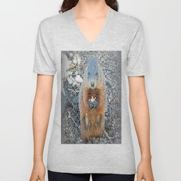 Ground Hog Unisex V-Neck