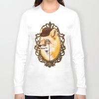 mr fox Long Sleeve T-shirts featuring Mr Fox by mattdunne