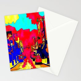 Main Street Stationery Cards