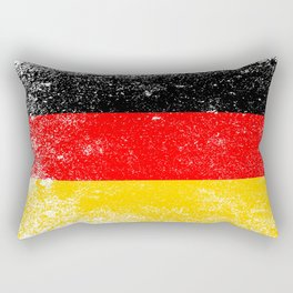 Flag of Germany Grunge Rectangular Pillow