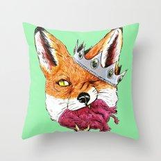 Queen Fox You Have My Heart Throw Pillow