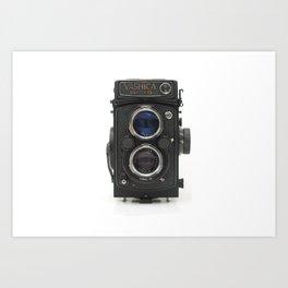 Vintage Camera (Yashica  124 G) Art Print