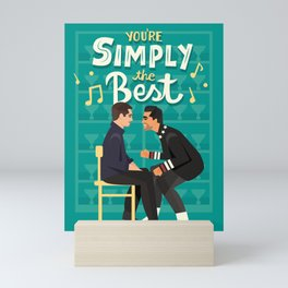 Simply the best Mini Art Print