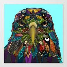 American Eagle blue Canvas Print