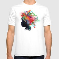 Wildchild (aged ver) White SMALL Mens Fitted Tee