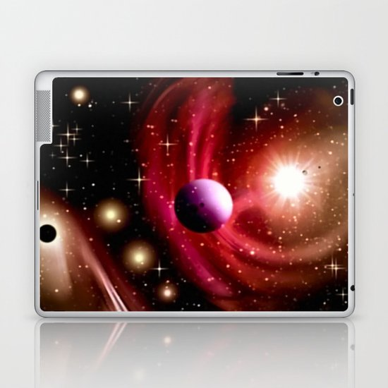 Stardust and solar wind. Laptop & iPad Skin