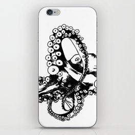 Octopus Sketch iPhone Skin