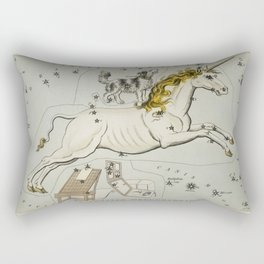 Unicorn Constellation - Monoceros - Canis Minor Rectangular Pillow