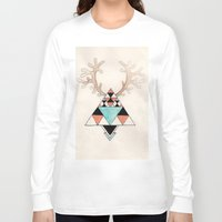 moose Long Sleeve T-shirts featuring Moose by Linneajak