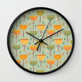Spring Time Wall Clock