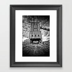Cwm Coke Works Framed Art Print