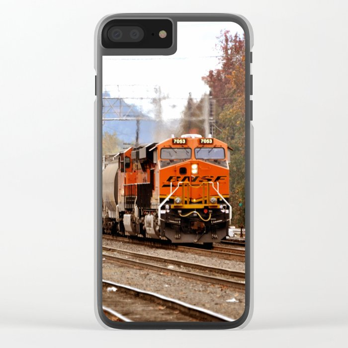 TRAIN YARD Clear iPhone Case