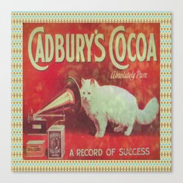 Cadburys Cocoa Canvas Print