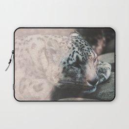 Leopard Beauty Laptop Sleeve