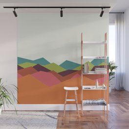 Chevron Mountain Wall Mural