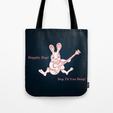 Rockin' Rabbit Tote Bag