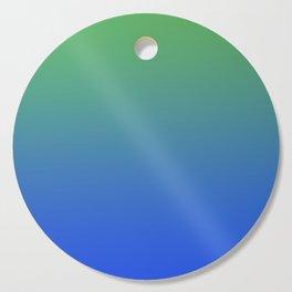 RESTING STATE - Minimal Plain Soft Mood Color Blend Prints Cutting Board