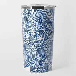Blue To No End Travel Mug