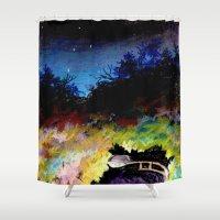 twilight Shower Curtains featuring Twilight by Ivanushka Tzepesh