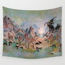 Dragon Hills Wall Tapestry