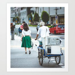 Rochor Street, Singapore Art Print
