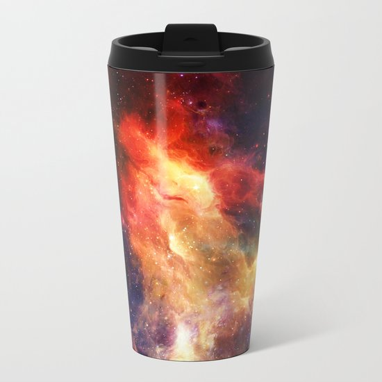 Everything is nothing 24 (therefore it was beautiful) Metal Travel Mug
