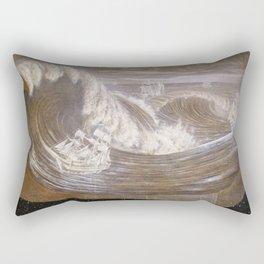 """""""Rogue Waves"""" Rectangular Pillow"""
