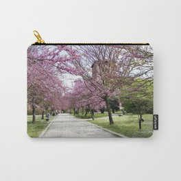 Pink trees path Carry-All Pouch