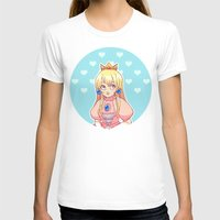 princess peach T-shirts featuring peach by madammonkey
