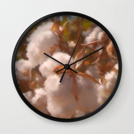 Cotton Harvest - No. 1 Wall Clock