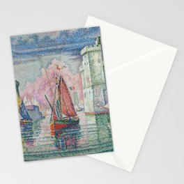 Entrance to the Port of La Rochelle Stationery Cards