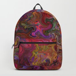 Psychedelic soup Backpack