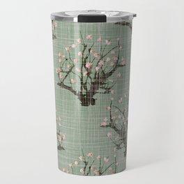 Sakura trees pattern Travel Mug