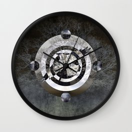 Blackbird Singing In The Dead Of Night Wall Clock