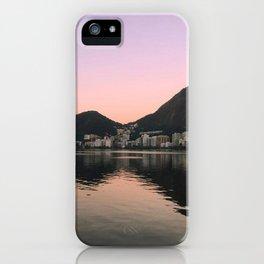 Lagoa Rio sunset iPhone Case